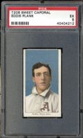 eddie plank, t206, baseball cards