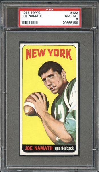 football cards, joe namath, vintage collectible cards