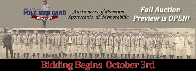 Fall Auction is Open for Bidding!