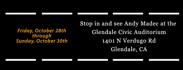 Meet us in Glendale! October 28th - 30th