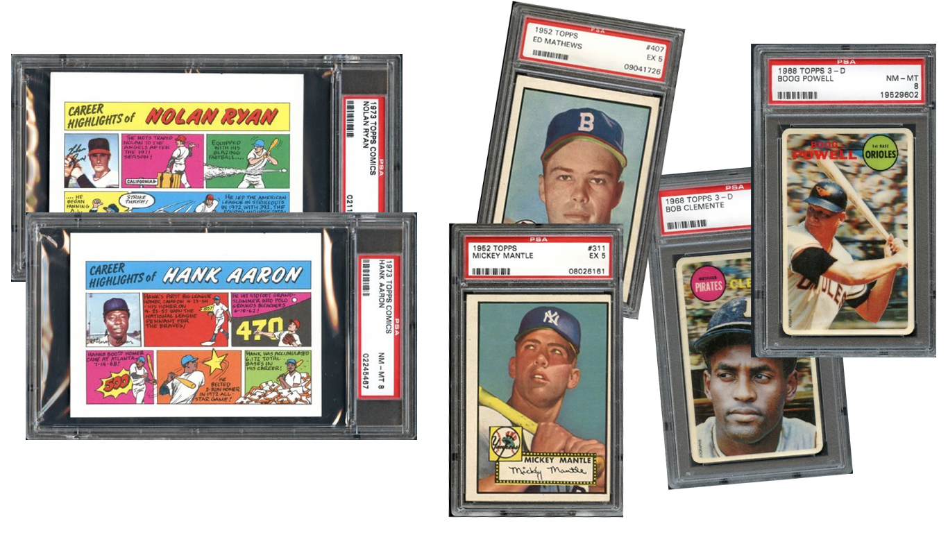baseball cards, 1973, online sports card auction