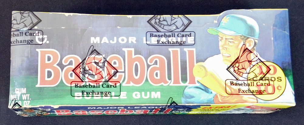 Unopened Baseball Pack