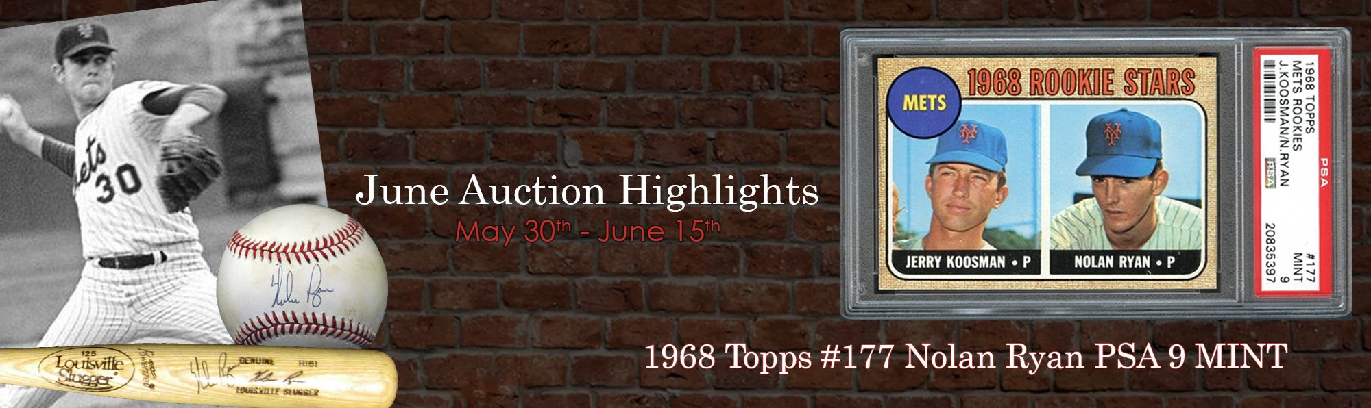 1968 Topps #177 Nolan Ryan PSA 9 MINT