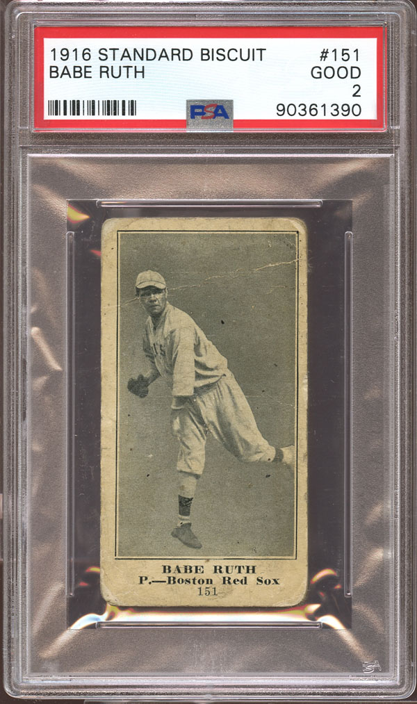 Babe Ruth Lot 1