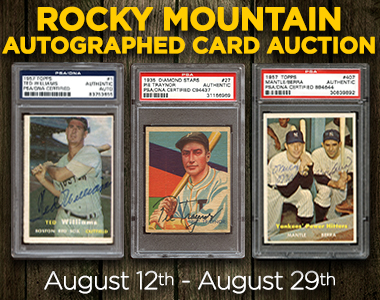 Mhcc Vintage Sports Cards Autographs And Memorabilia