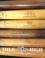 March 2019 auction, king kelly, mickey mantle, babe ruth, 500 home run club, game used bats