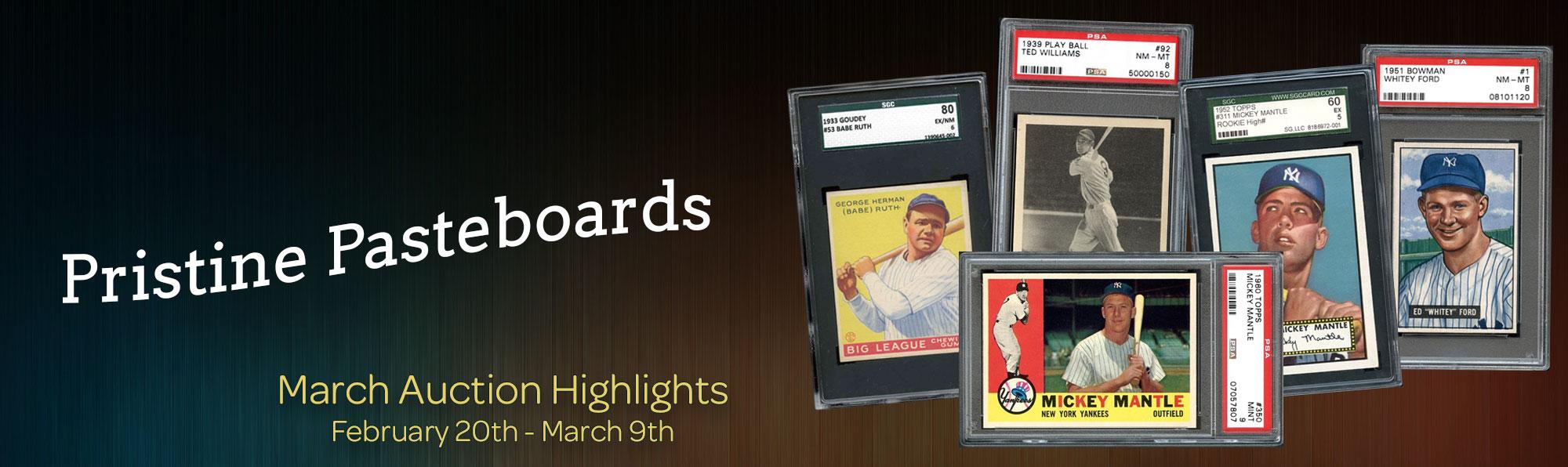 March Catalog runs February 20th - March 9th