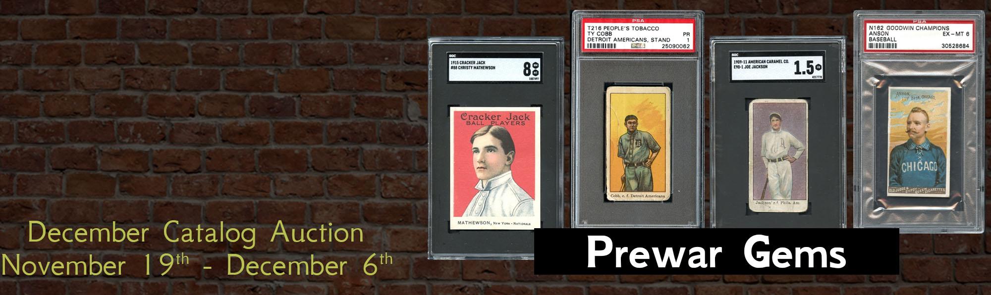 Prewar Baseball Cards