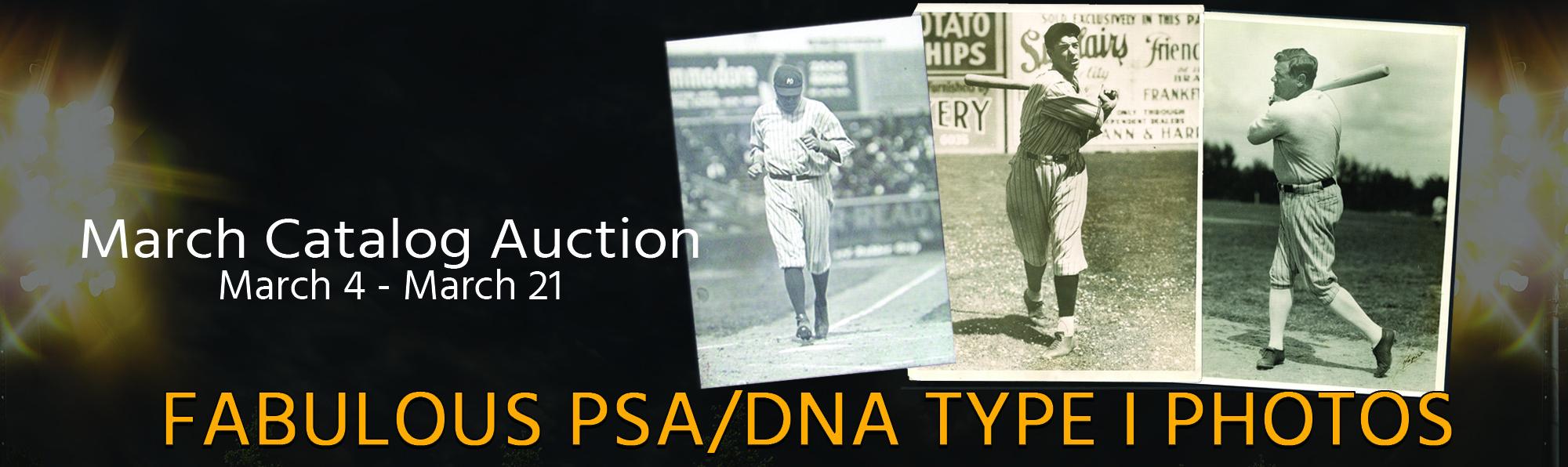 Fabulous PSA/DNA Type I Photographs