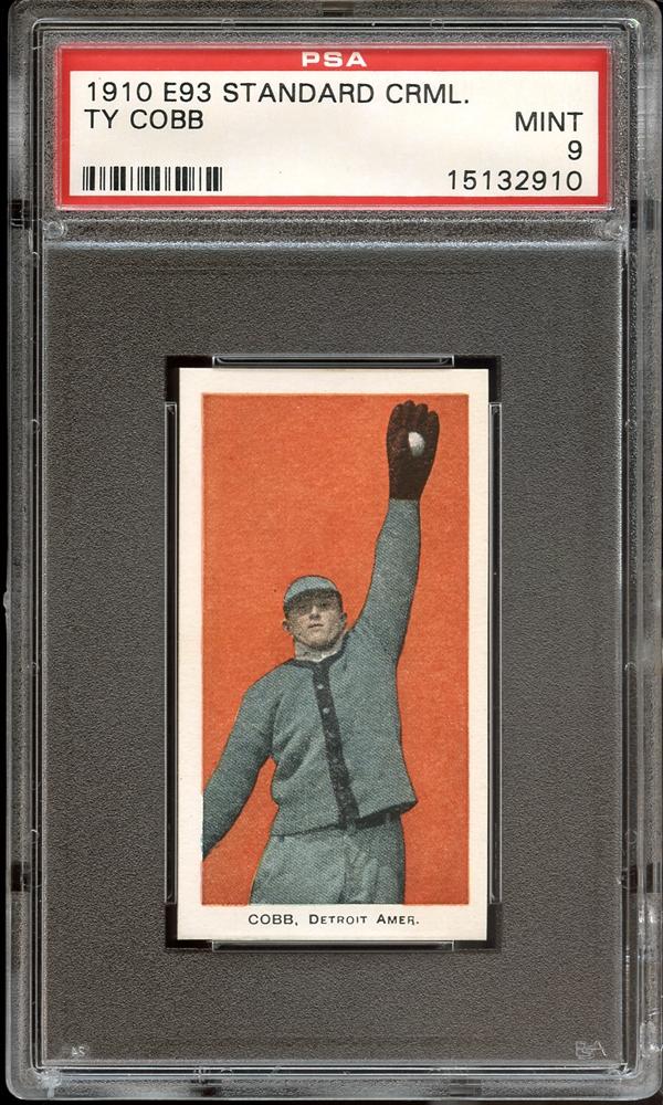 vintage baseball, cobb, e93