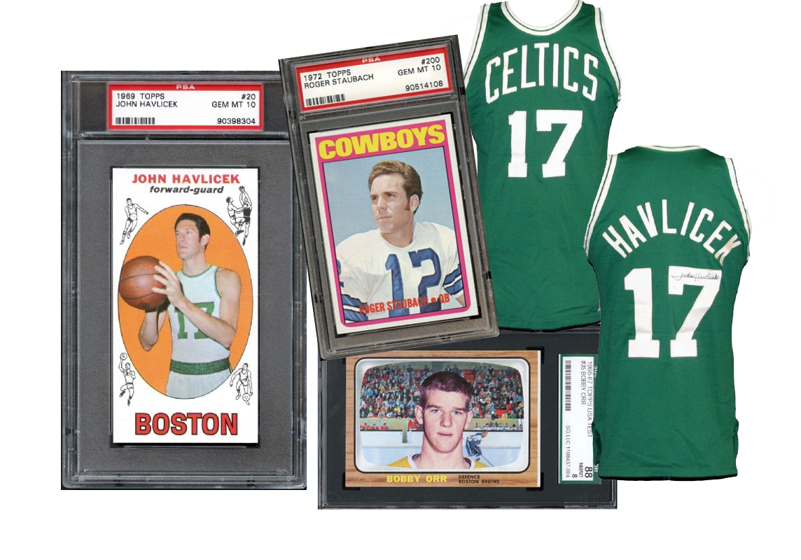 online sports card auction, football cards, baseball cards, hockey cards, PSA graded